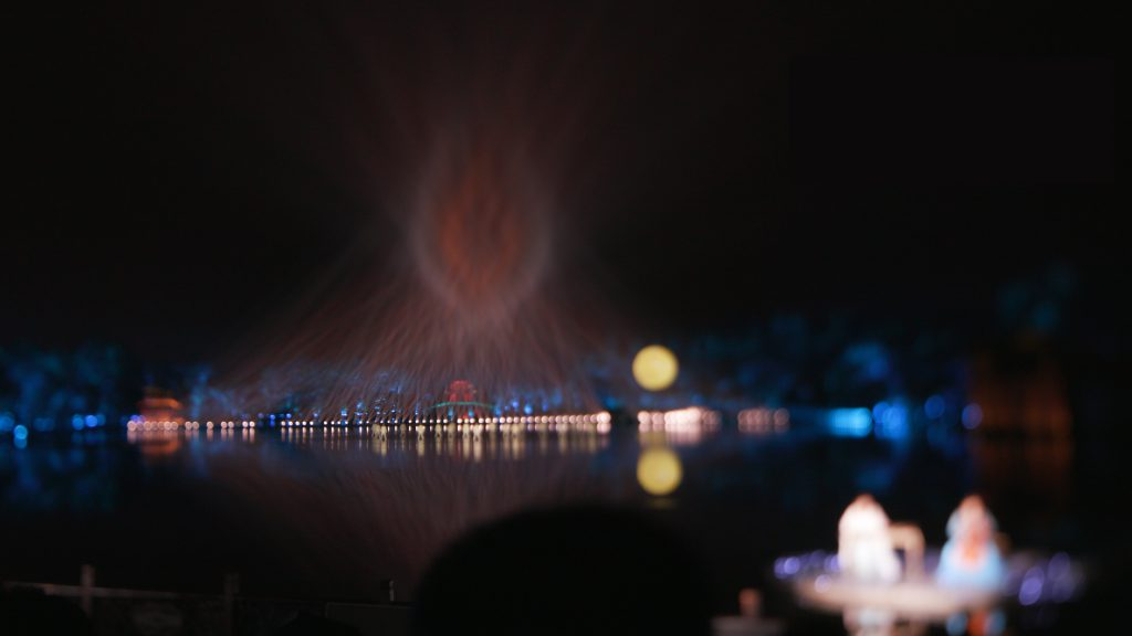 West lake Water Show in China
